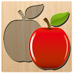 Kids Puzzles : Wooden Blocks Puzzle for pc logo