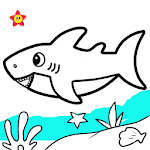 Baby Shark Coloring and Drawing icon