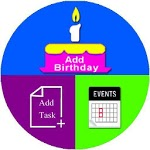 Birthday sms Reminder and Events Alert icon