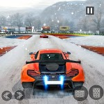 Snow Driving Car Racer Track Simulator icon