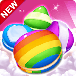 Cookie & Macaron Pop : Sweet Match3 Puzzle icon