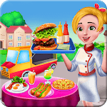 Healthy Food Truck Cooking icon