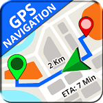 GPS, Maps, Directions & Navigation: Route Planner icon