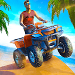 Beach ATV Bike Quad Stunt Racing icon