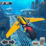 Underwater Racing Motorbike Flying Stunts icon