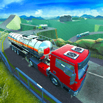 Offroad Oil Trailer Transport icon