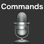 Commands for Siri App Voice icon