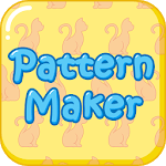 Cute Pattern Wallpaper Maker icon