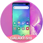 Themes for samsung S10: S10 launcher and wallpaper for pc logo