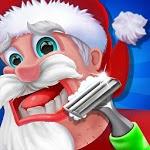Santa Beard Hair Salon Games icon