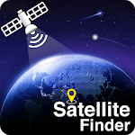 Satellite finder - Map Area Calculator, Clinometer icon