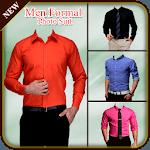 Men Formal Shirt Photo Suit icon