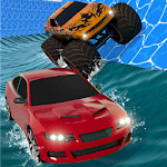 Aqua Cars Uphill Water Slide Rally 3D icon