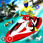 Jet Ski Racing Stunts : Fearless Water Sports Game icon