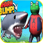 Sim  Frog Game Amazing Adventure shark TOWN icon
