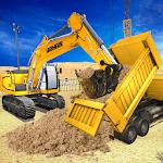 Heavy Excavator City Construction Sim 2019 icon