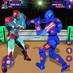 Robot Ring Fighting-Superhero Robot VS Steel Robot icon