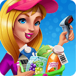SuperMarket Fever - Girl Shopping & Cooking Food icon