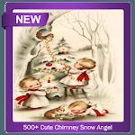 500+ Cute Chimney Snow Angel icon