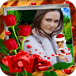 CHRISTMAS PHOTO FRAMES FOR PICTURES-Happy New year icon