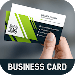 Business Card Maker Free Visiting Card Maker photo for pc logo