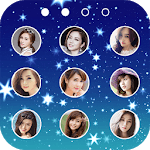 lock screen keypad photo icon