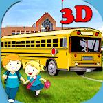 3D School Bus Driving icon