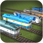 Train Track Race Simulator icon