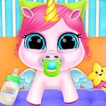 Baby Unicorn Care Pet Pony for pc logo