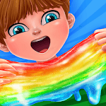 Six Gallon Slime Maker Rainbow Glitter icon