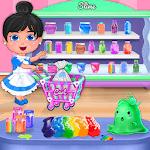 Super Slime Shopping Fun Play icon