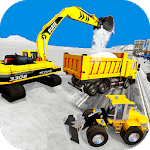 Snow Excavator Crane Simulator icon