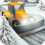Heavy Snow Excavator Snowplow Simulator icon