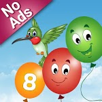 Balloon Pop and Learn for kids icon