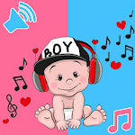 funny cute baby sound for pc logo
