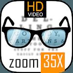 Pocket Eyes reading glasses. (Magnifier glasses) icon