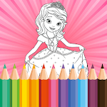 Coloring Book for Disney Princess - for girls game for pc logo