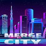 Merge City: idle building game icon