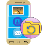 Android File Recovery Guide for pc logo