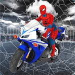 Spider Girl Stunt Rider  Super hero Highway Rider icon