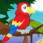 Animals in the jungle_nursery rhyme for kids. icon