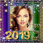 2019 New Year Photo Frames - New Year Wishes 2019 icon