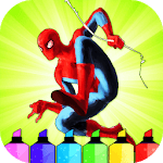 Spidey Superhero Coloring Pages icon