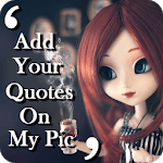 quotes on my pic & quotes app for pc logo