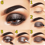 Step By Step Eyes Makeup Tutorial icon