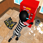 Real Stickman Bank Robbery Simulator icon