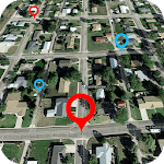Street View Map HD: Satellite View & Earth Map for pc logo