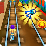 Subway Train Surfing Run for pc logo