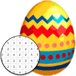 Easter Egg Coloring Game - Color By Number icon
