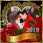 Valentine's Day Photo Frames 2019 icon